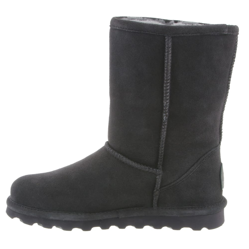 BEARPAW Women's Elle Short Boots, Charcoal - CHARCOAL