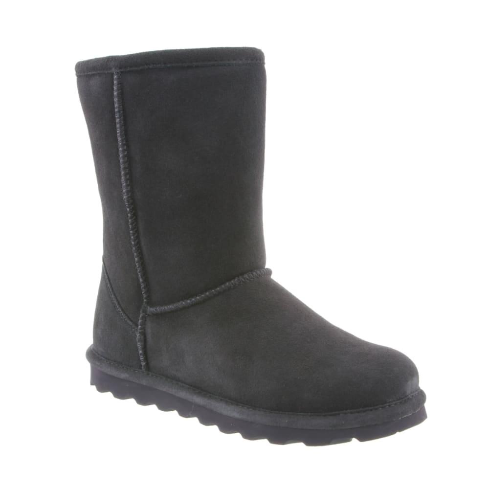 BEARPAW Women's Elle Short Boots, Charcoal 5