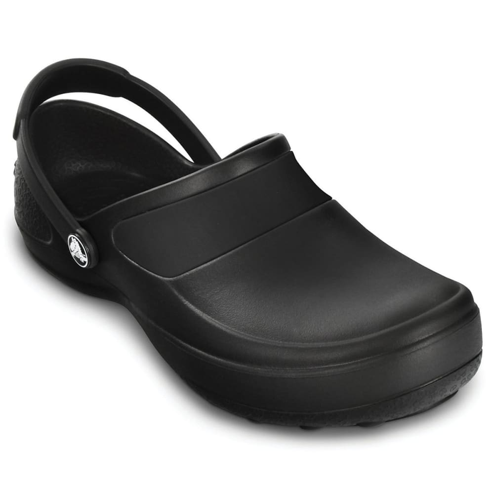 Crocs Women's Mercy Work Clogs, Black