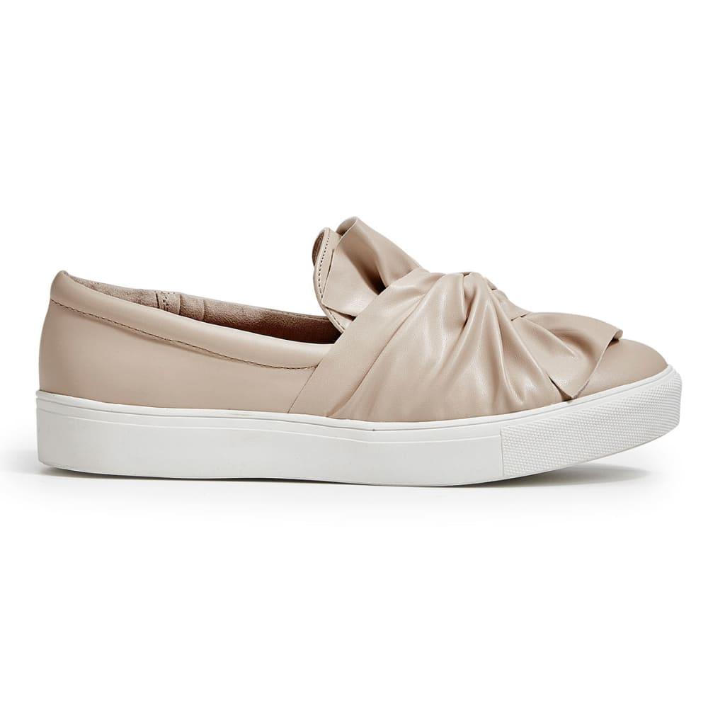 MIA Women's Zoe Knot Slip-On Sneakers, Blush - BLUSH