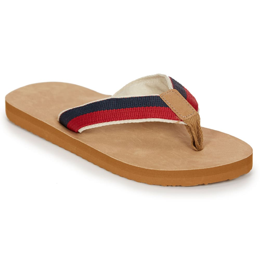 HANG TEN Men's Aptos Flip Flops - TAN