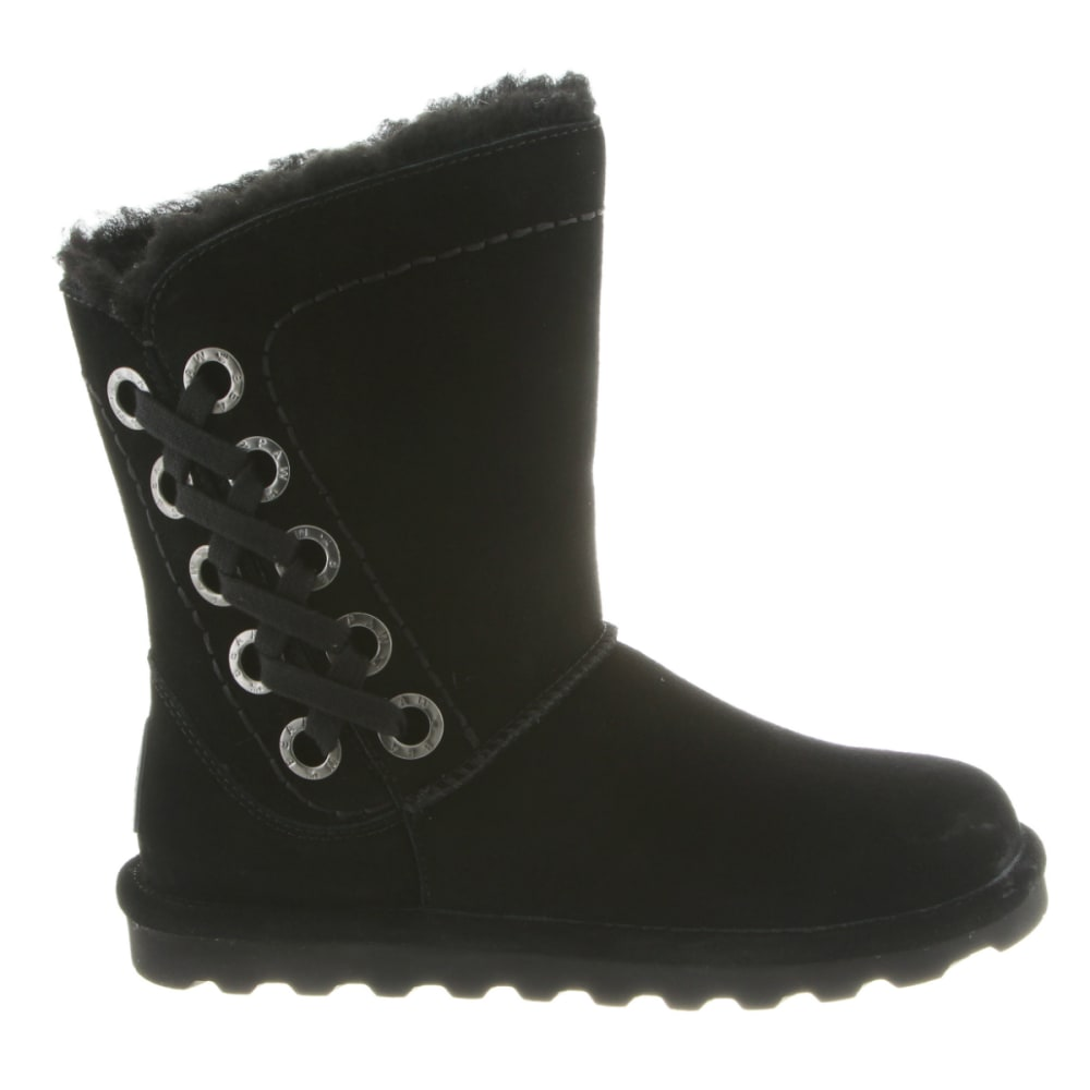 BEARPAW Women's Morgan Boots, Black - BLACK