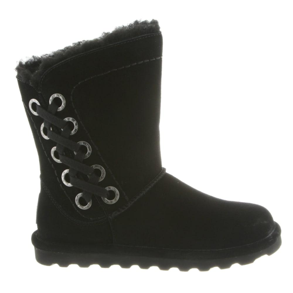 BEARPAW Women's Morgan Boots, Black - BLACK