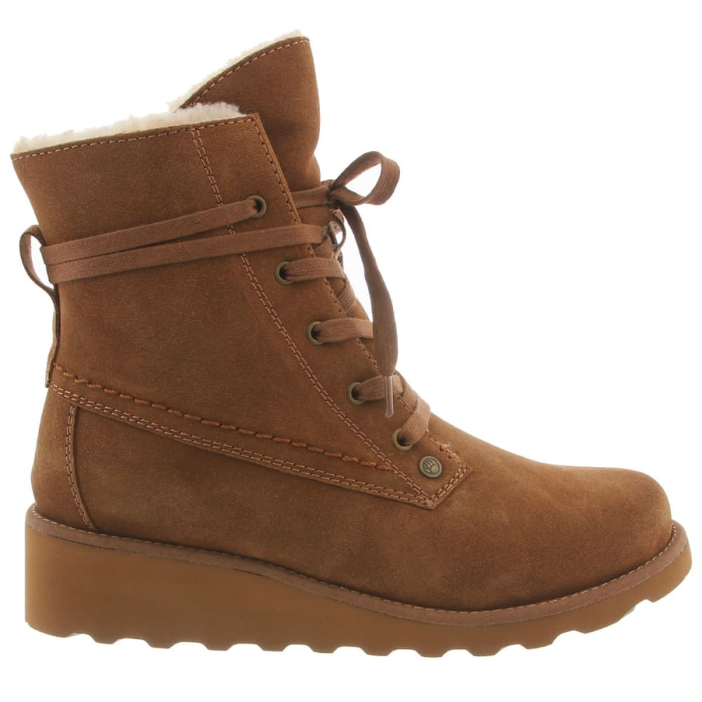 BEARPAW Women's Krista Boots, Hickory - HICKORY