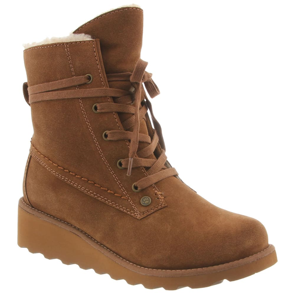 Bearpaw Women's Krista Boots, Hickory - Brown, 6