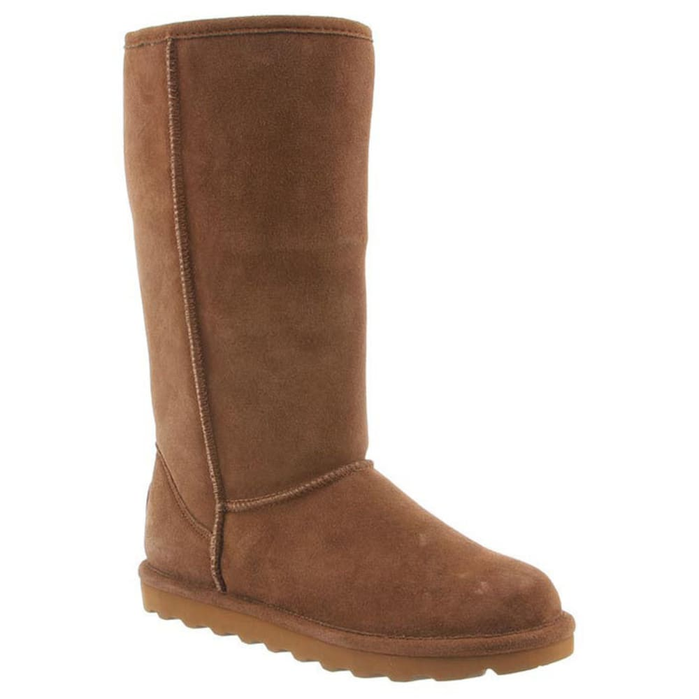 BEARPAW Women's Elle Tall Boots, Hickory - HICKORY