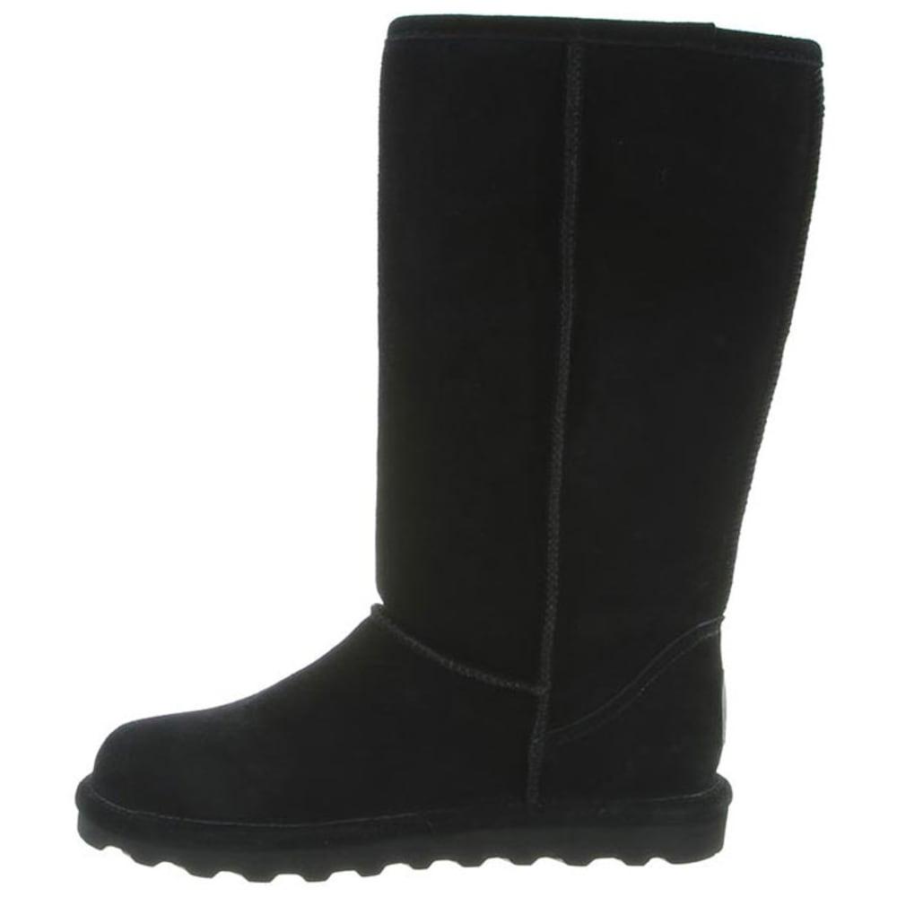 BEARPAW Women's Elle Tall Boots, Black - BLACK