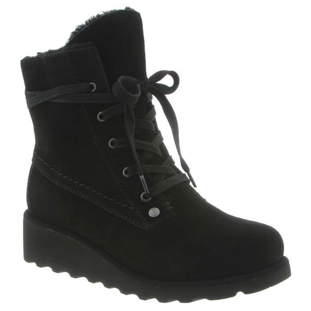 BEARPAW Women's Krista Boots, Black - BLACK