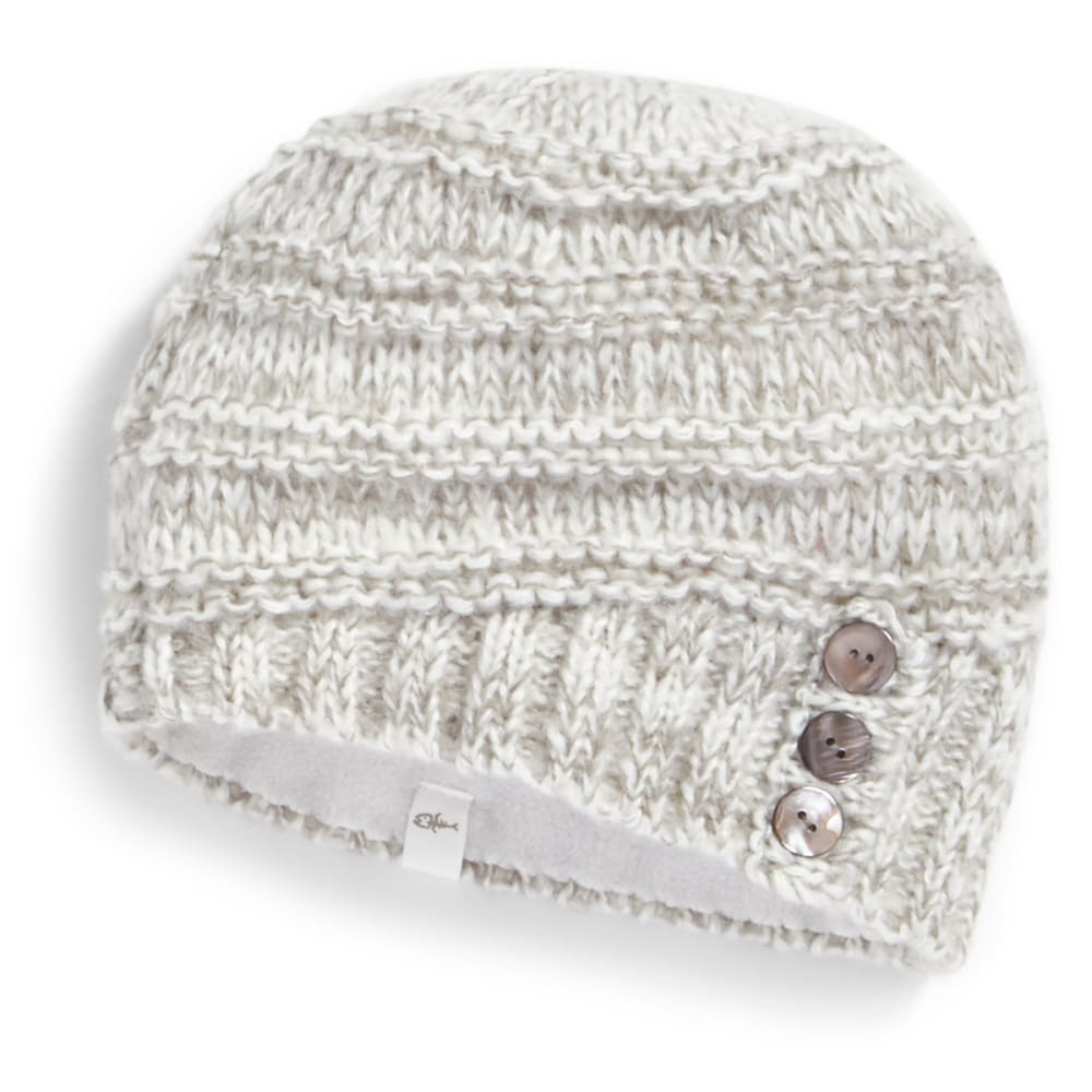SCREAMER Women's Salter Beanie - WHITE/LT GREY-933