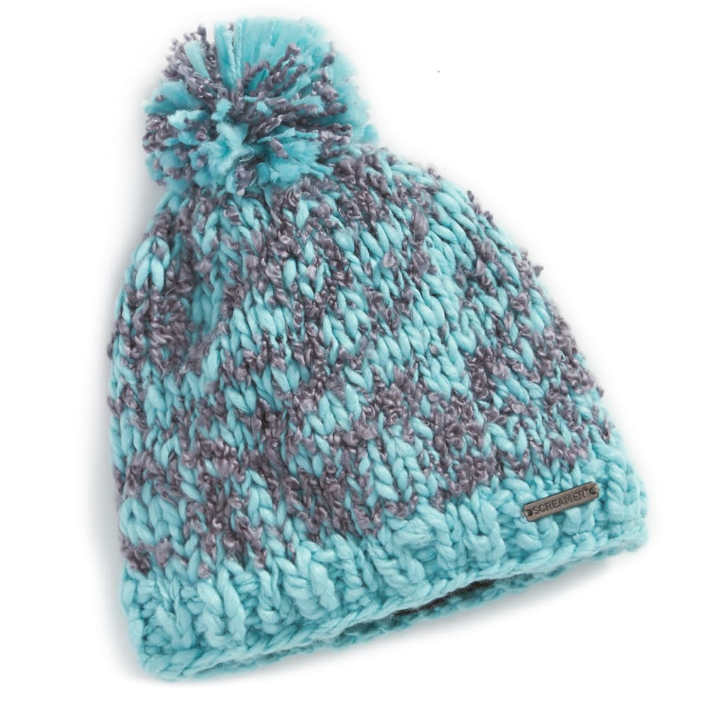SCREAMER Women's Samantha Beanie - ANGEL BLUE-305