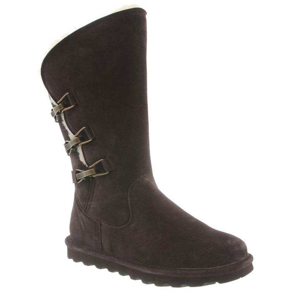 BEARPAW Women's Jenna Tall Boots, Chocolate 6