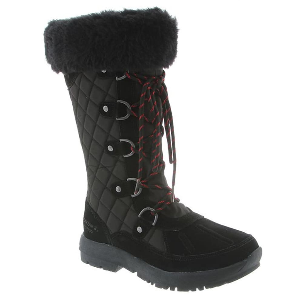 Bearpaw Women's Quinevere Boots, Black
