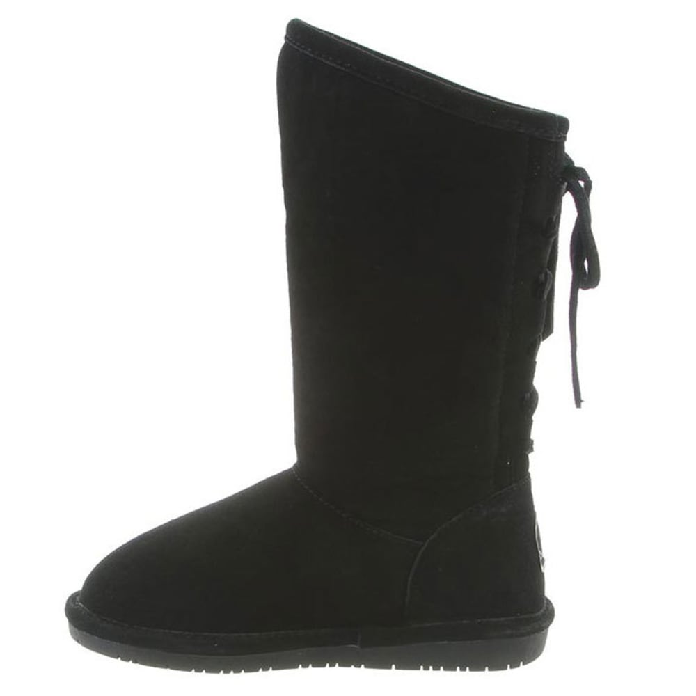 BEARPAW Girls' Phylly Boots, Black - BLACK