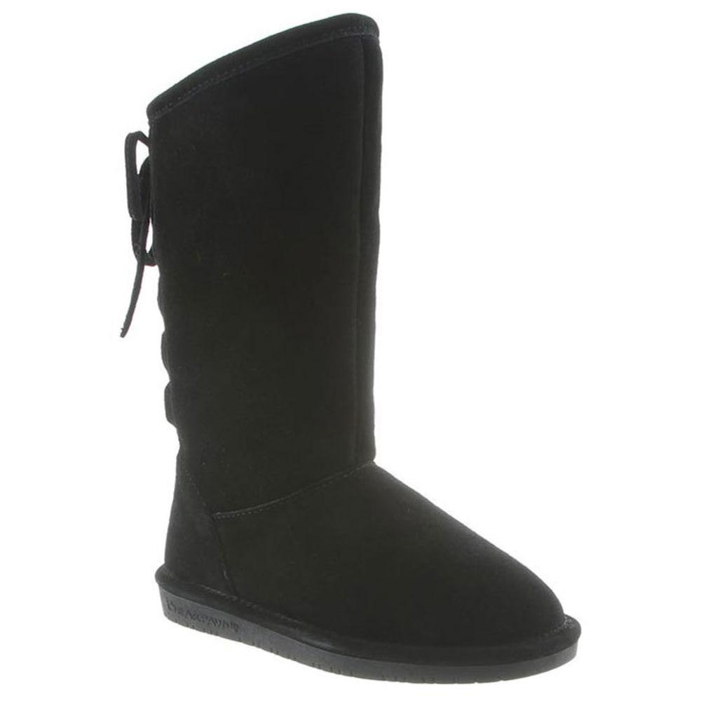 BEARPAW Girls' Phylly Boots, Black - BLACK-011