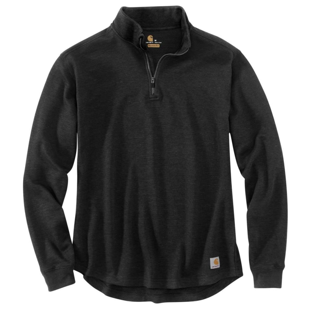 CARHARTT Men's Tilden Quarter Zip Pullover - 001-BLACK