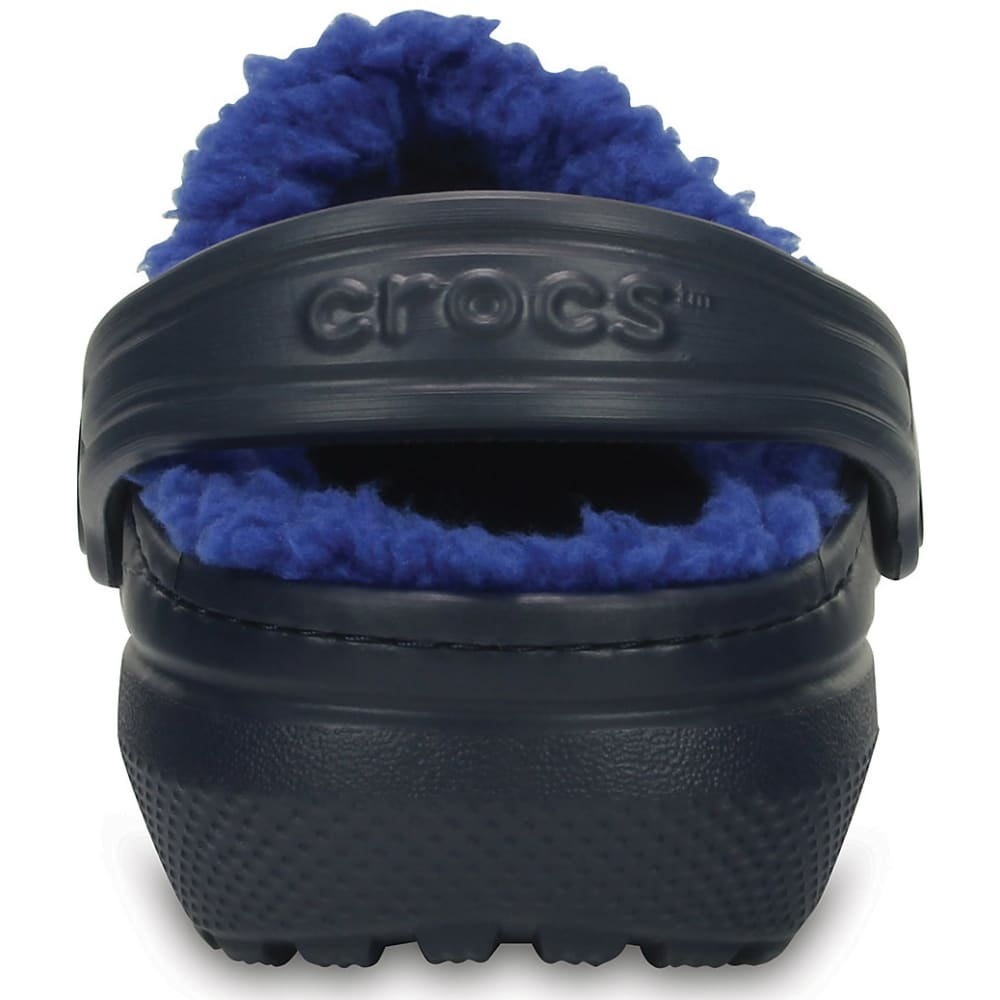 CROCS Kids' Classic Lined Clogs, Navy/Blue - NAVY