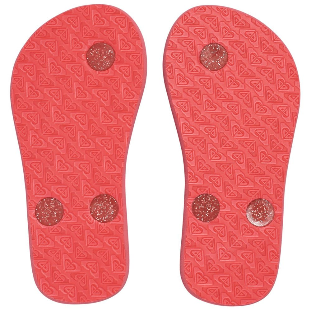 ROXY Toddler Girls' TW FiFi II Sandals, Black/Red - RED