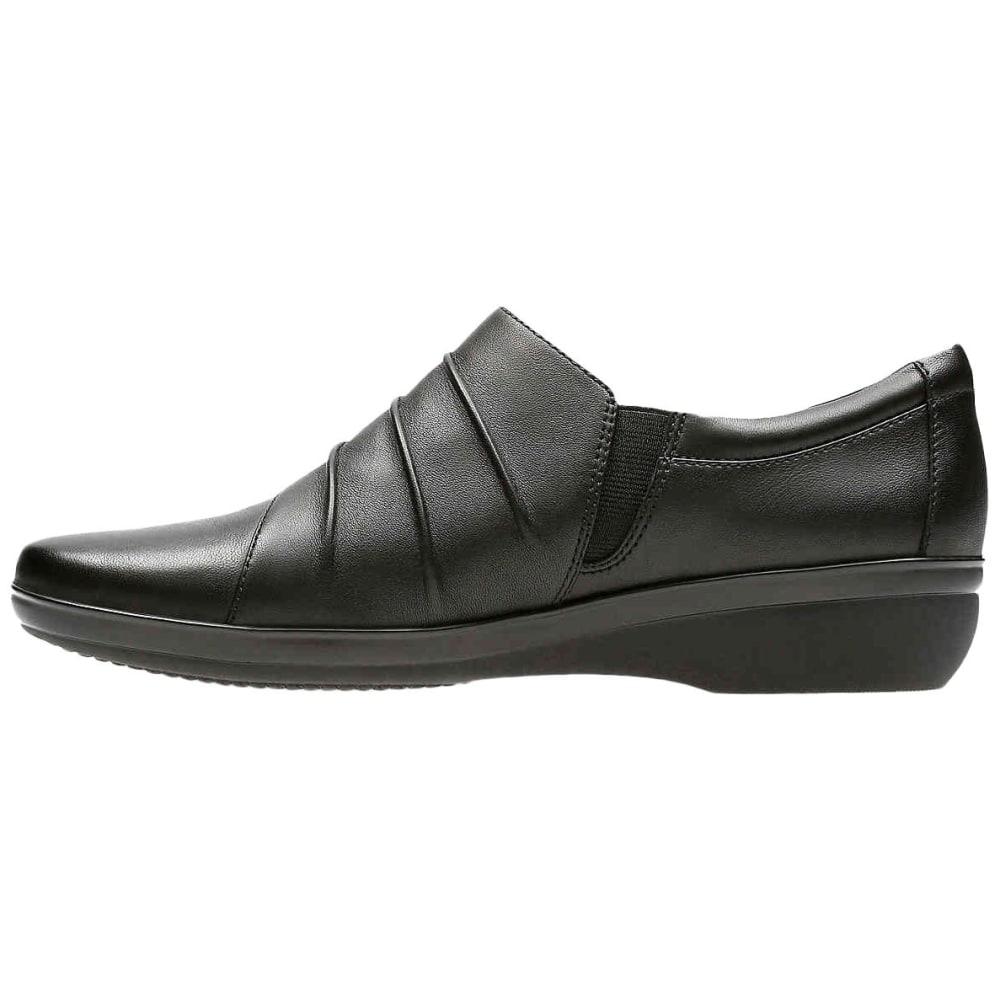 CLARKS Women's Everlay Heidi Casual Slip-On Shoes, Black - BLACK