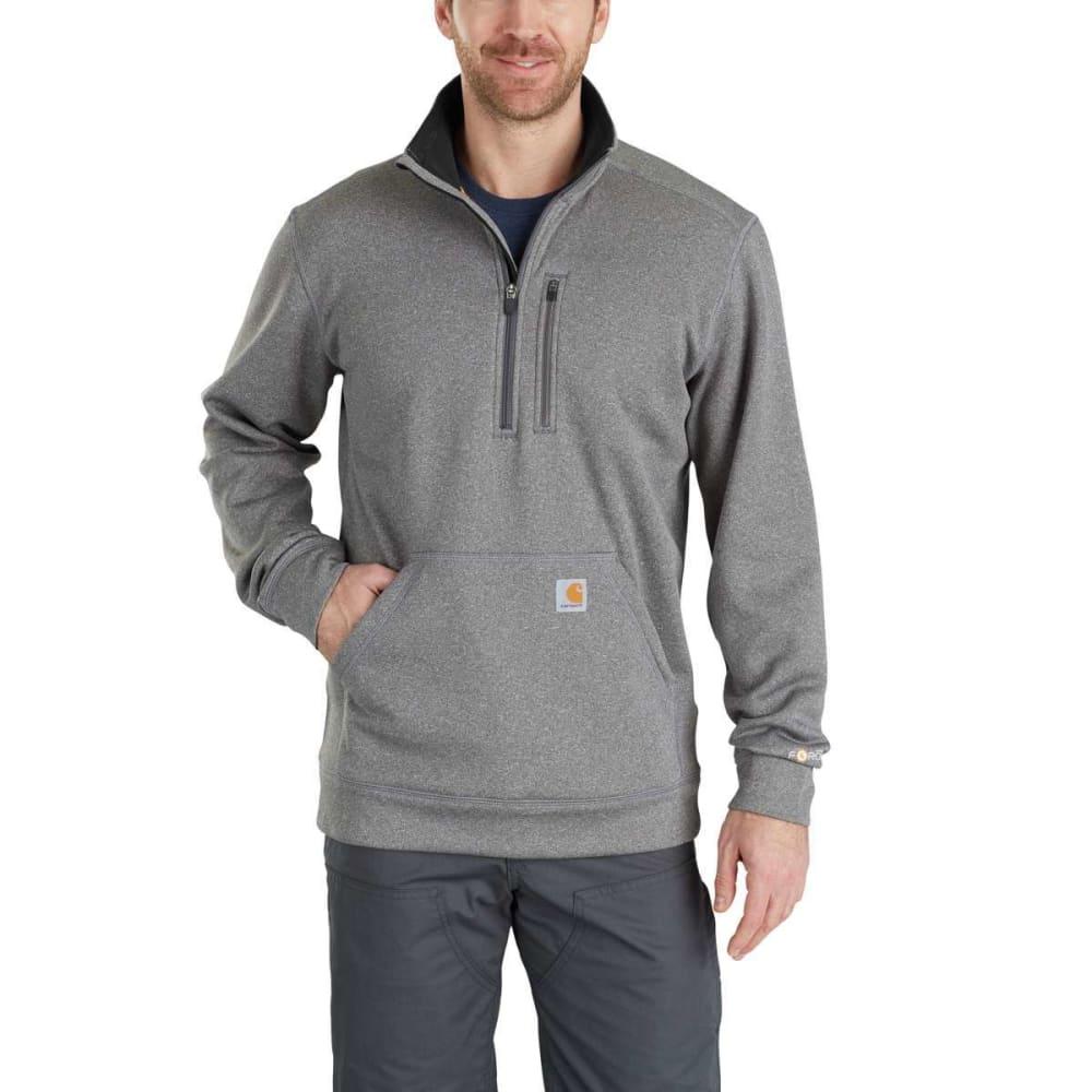 CARHARTT Men's Force Extremes Mock Neck Half-Zip Sweatshirt S