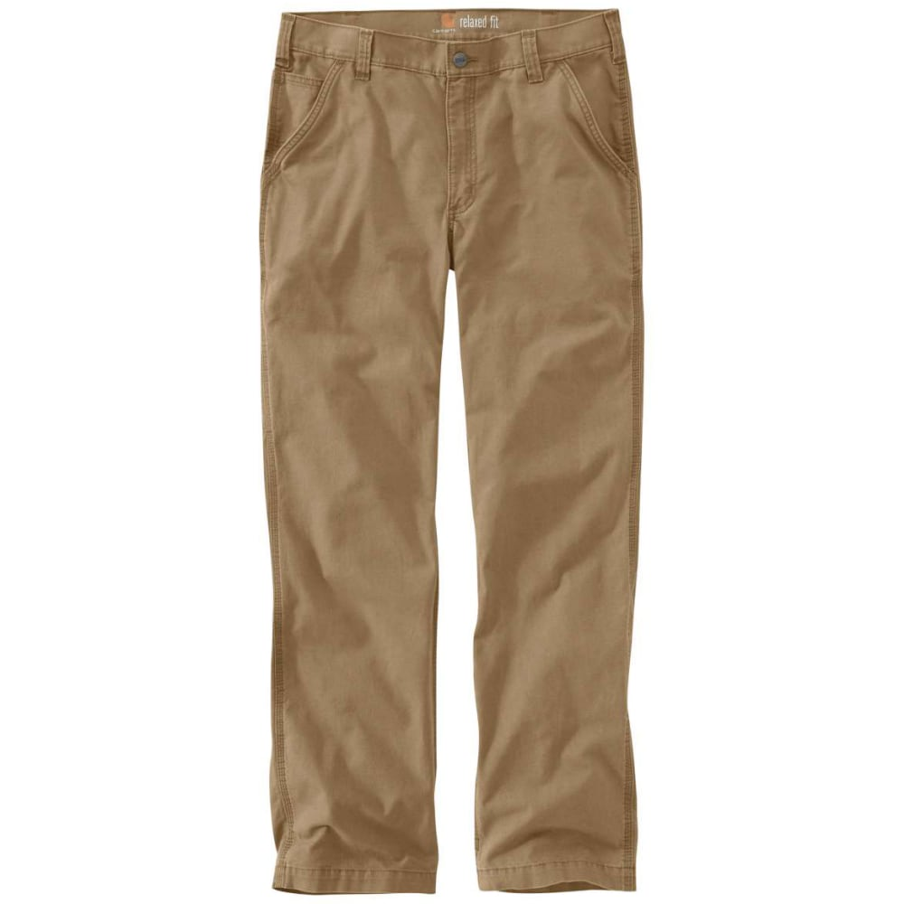 Carhartt Men's Rugged Flex(R) Rigby Dungarees - Brown, 32/30