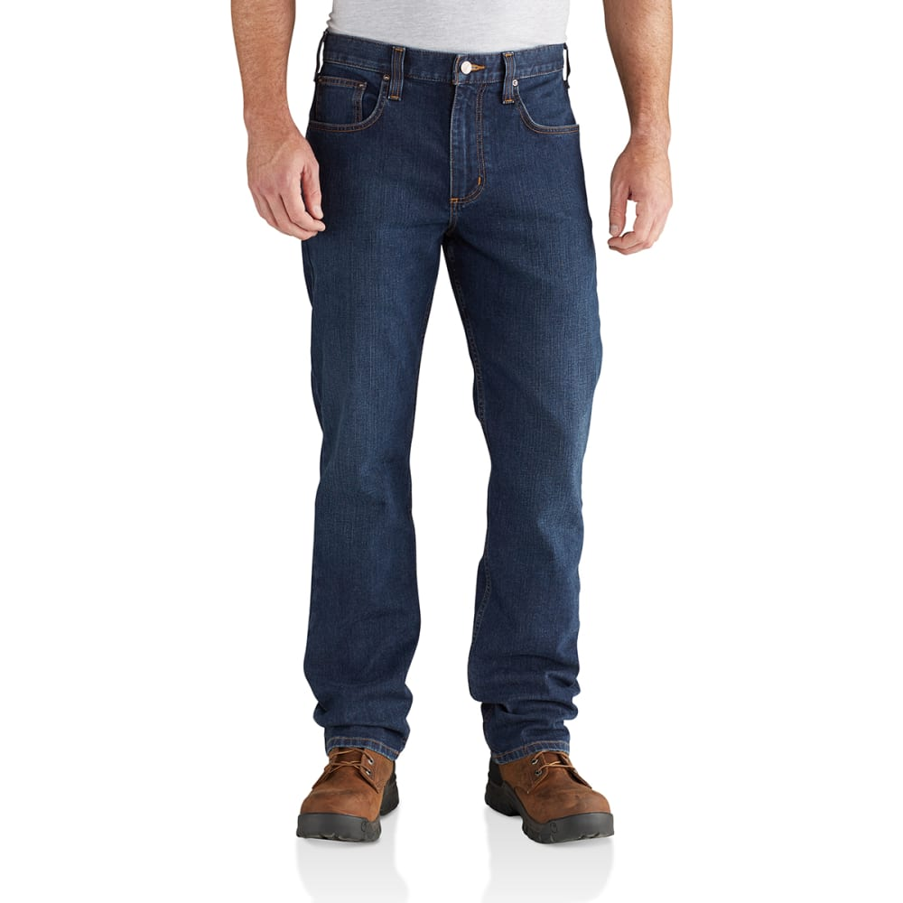 CARHARTT Men's Rugged Flex Relaxed-Fit Straight-Leg Jeans 32/32
