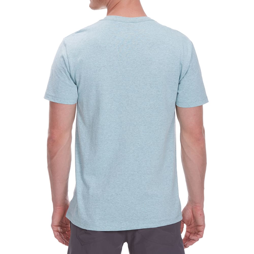OCEAN CURRENT Guys' Discover More City/Palms Short-Sleeve Tee - CORAL