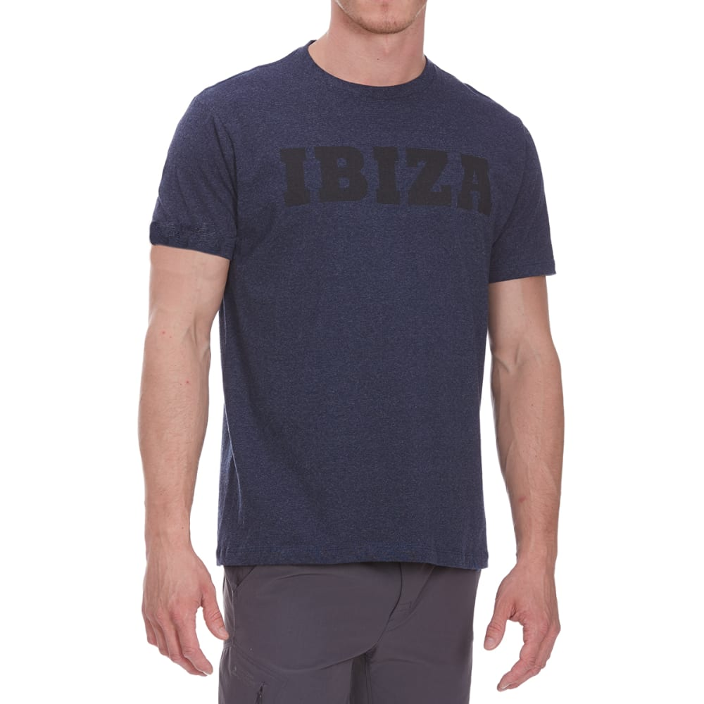 OCEAN CURRENT Guys' Team Ibiza Short-Sleeve Tee - BLUEBERRY