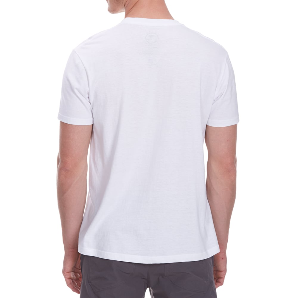 OCEAN CURRENT Guys' Double Time Brooklyn Bridge Short-Sleeve Tee - WHITE