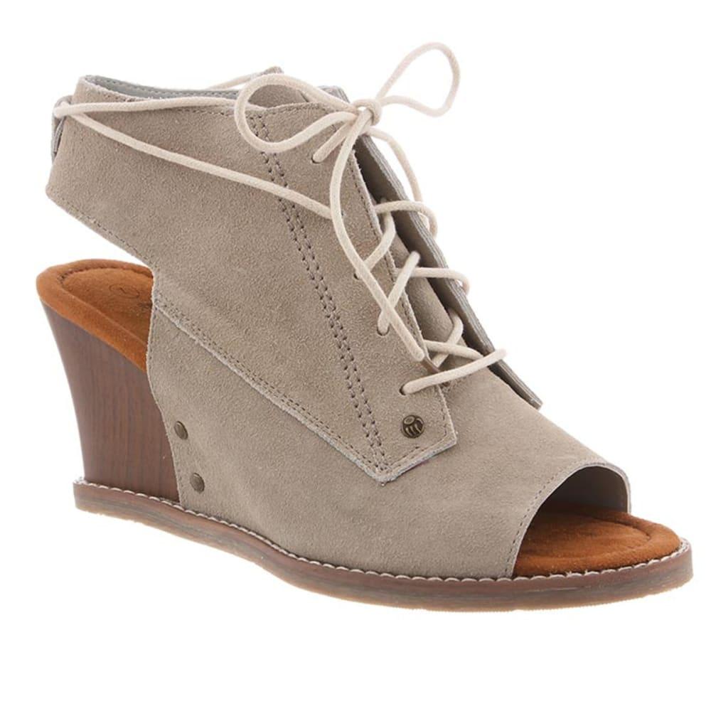 BEARPAW Women's Aracelli Wedge Sandals 6.5