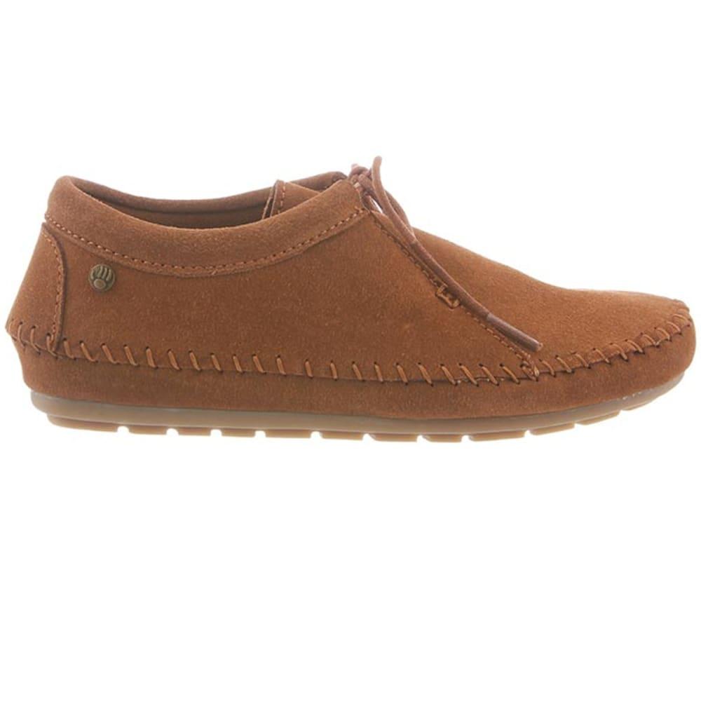 BEARPAW Women's Ellen Microsuede Shoe - HICKORY II