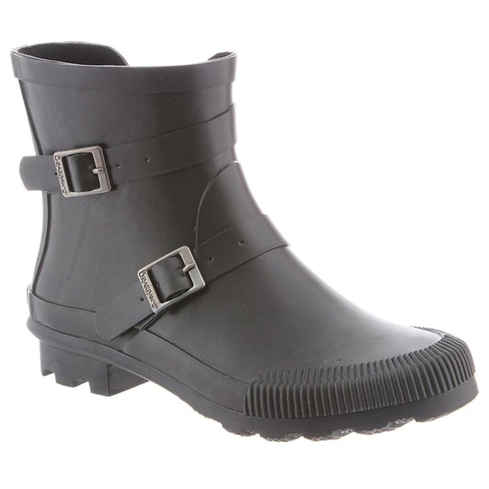 BEARPAW Women's June Waterproof Rain Boots - BLACK II