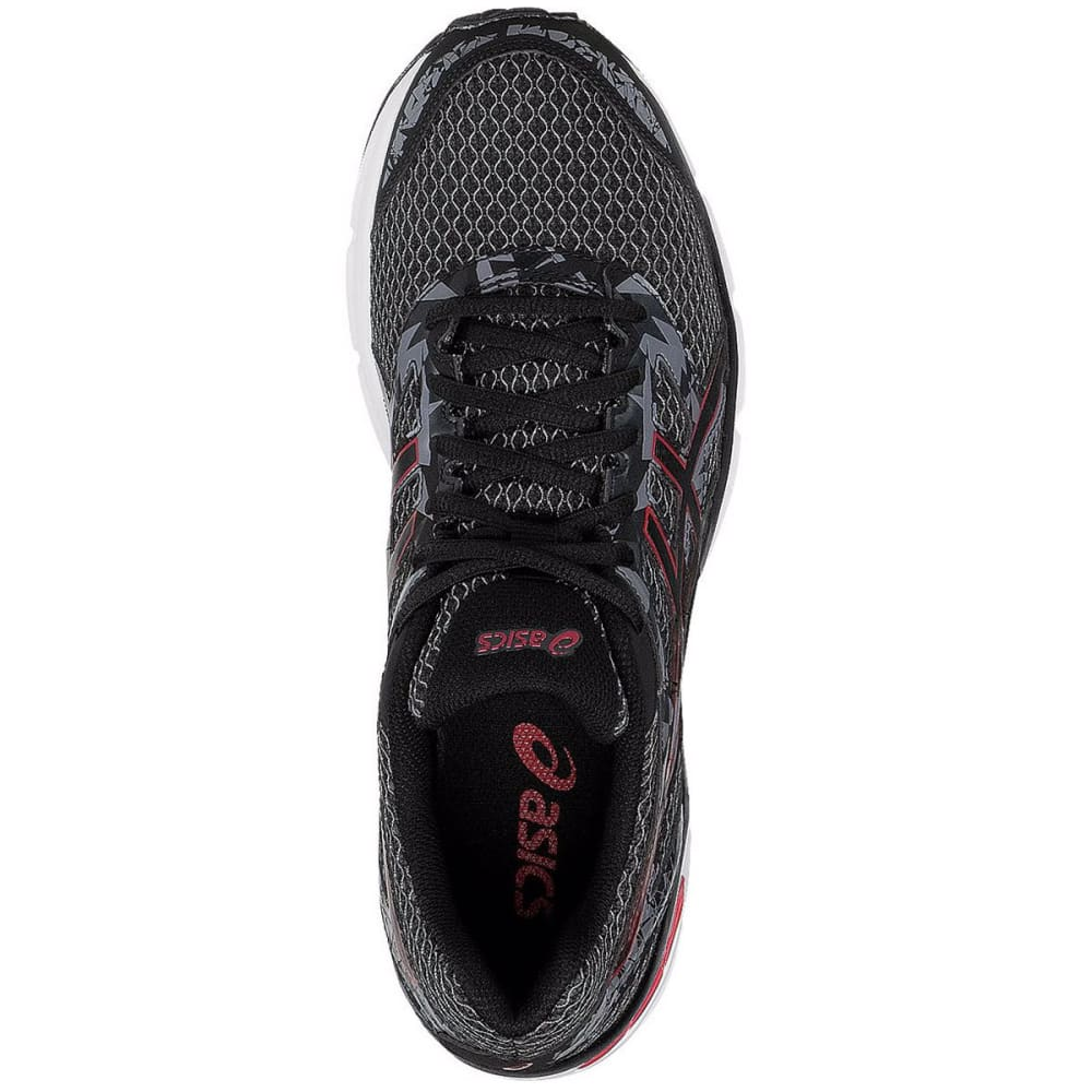ASICS Men's Gel-Excite 4 Running Shoes, Black/True Red/Carbon - BLACK