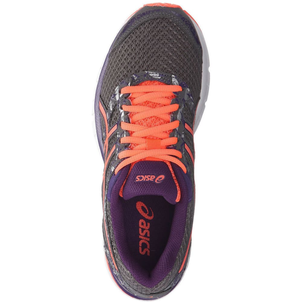ASICS Women's Gel-Excite 4 Running Shoes, Shark/Coral/Parachute Purple - GREY