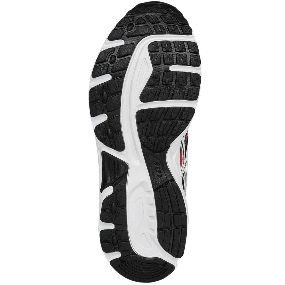 ASICS Boys' GEL-Contend 3 GS Running Shoes, Black/White/Vermillion - BLACK