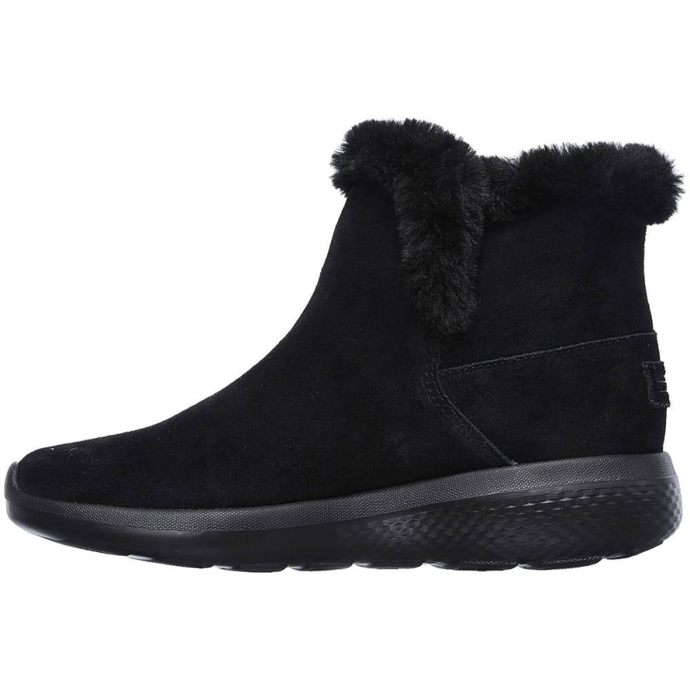 SKECHERS Women's On The Go City 2 – Bundle Chugga Boots, Black - BLACK