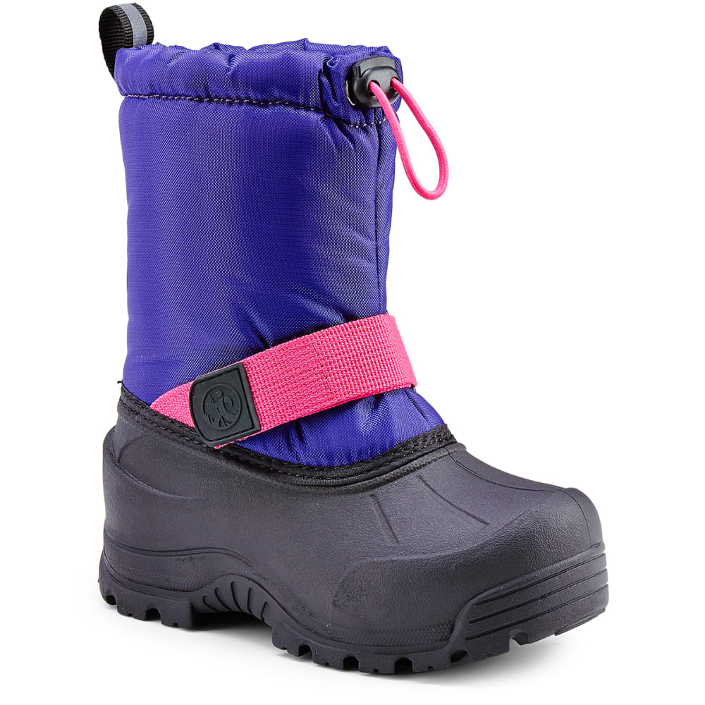 NORTHSIDE Toddler Girls' Frosty Snow Boots - PURPLE