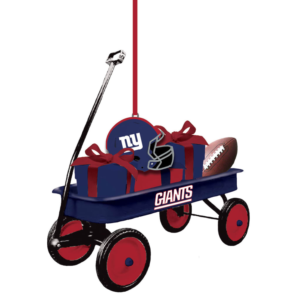 NEW YORK GIANTS Team Wagon Ornament NO SIZE