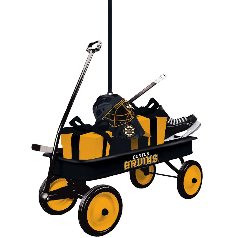 BOSTON BRUINS Team Wagon Ornament - BRUINS