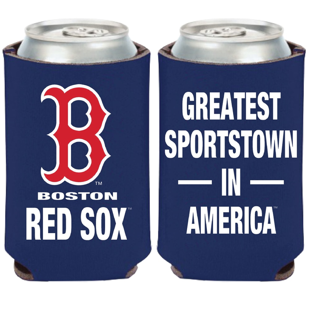 BOSTON RED SOX Greatest Sportstown in America Can Cooler - NAVY
