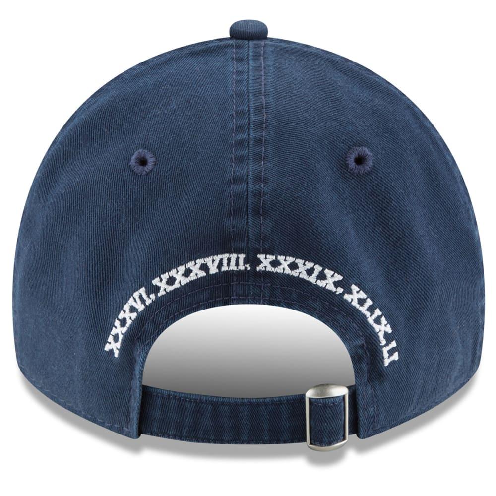 NEW ENGLAND PATRIOTS 5-Time Champions 9TWENTY Adjustable Hat - NAVY