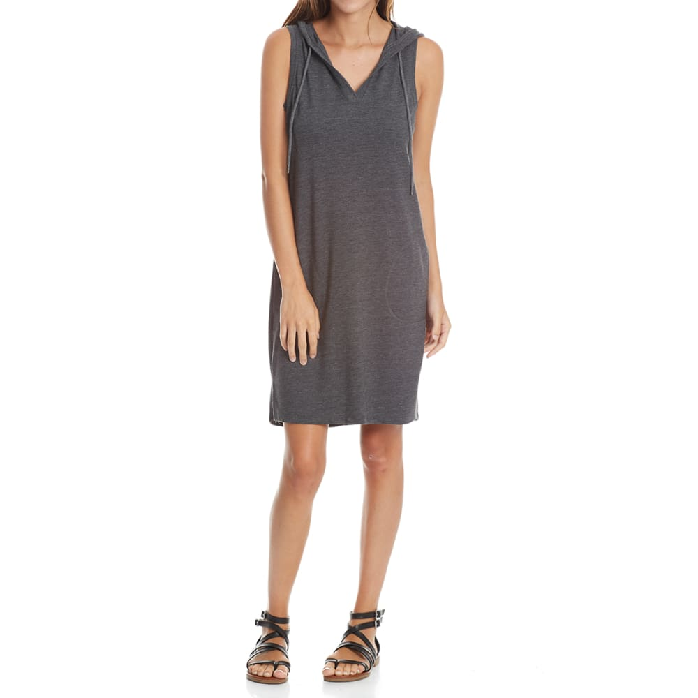 RBX Women's Baby French Terry Tank Dress - CHARCOAL HTR-A