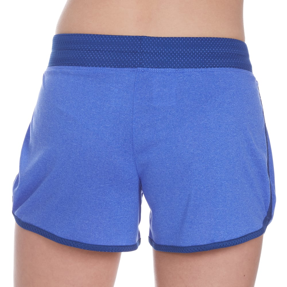 LAYER 8 Women's Knit Shorts - BLISSFUL BLUE