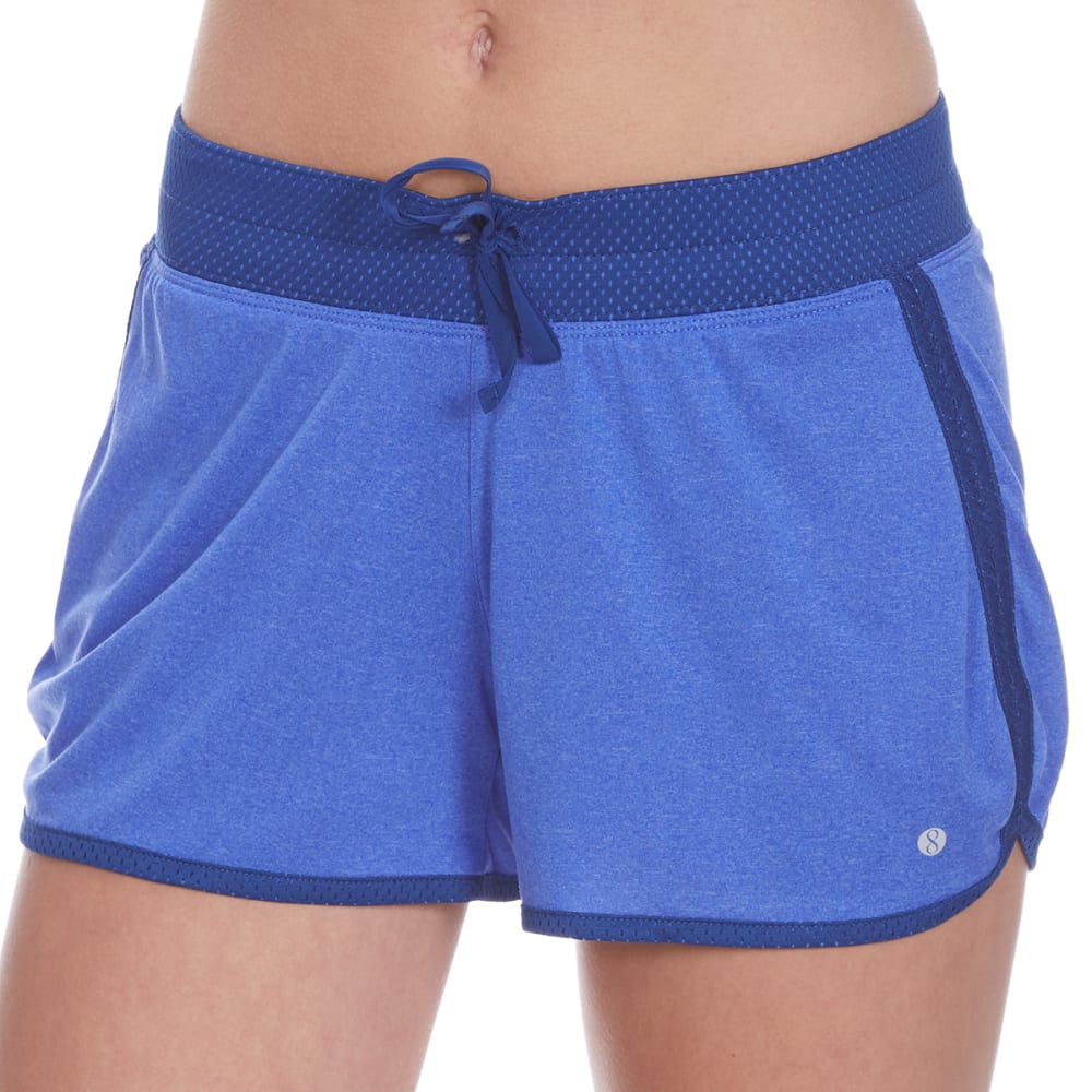 LAYER 8 Women's Knit Shorts - BLISSFUL BLUE