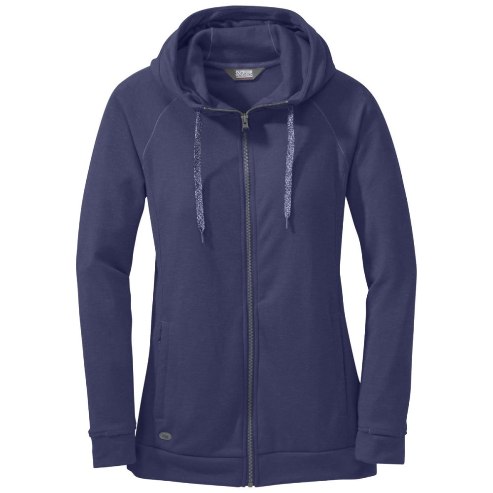 OUTDOOR RESEARCH Women's Ozette Full Zip Hoody - BLUE VIOLET