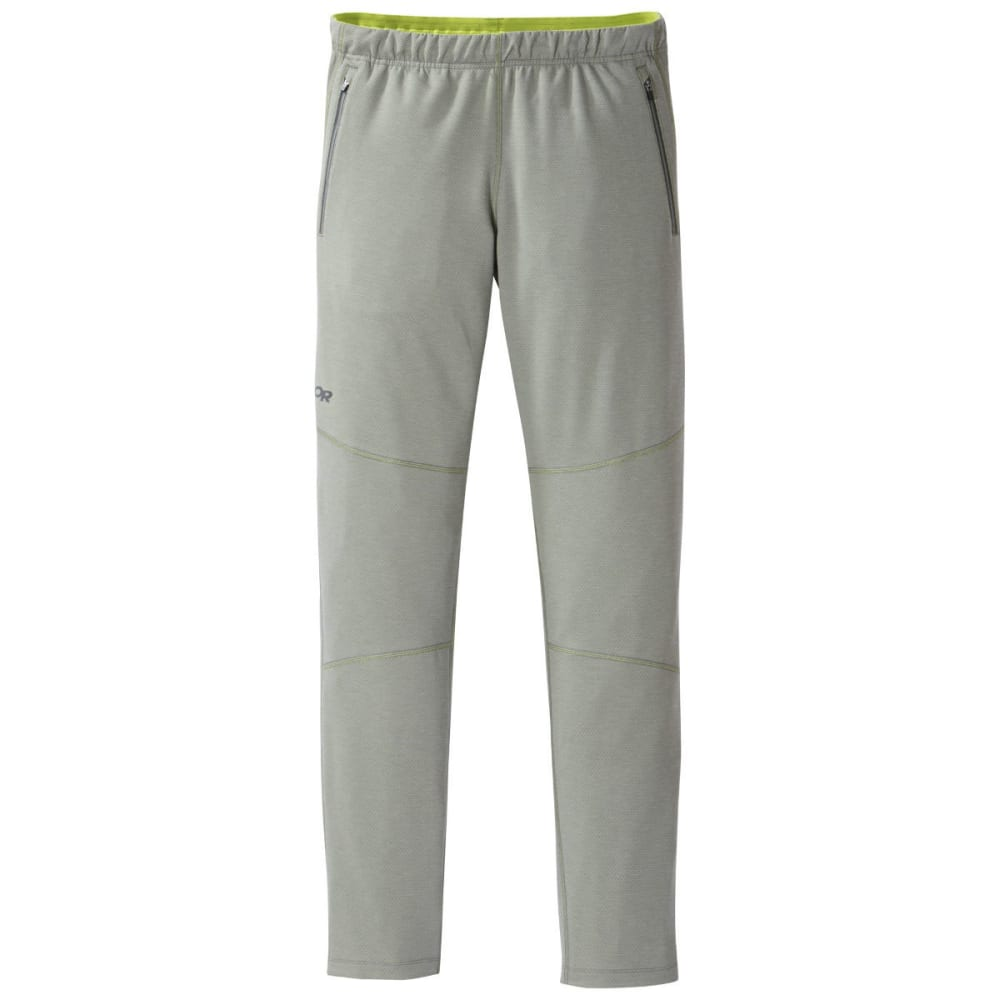 OUTDOOR RESEARCH Men's Shiftup Tights - PEWTER/LEMONGRASS