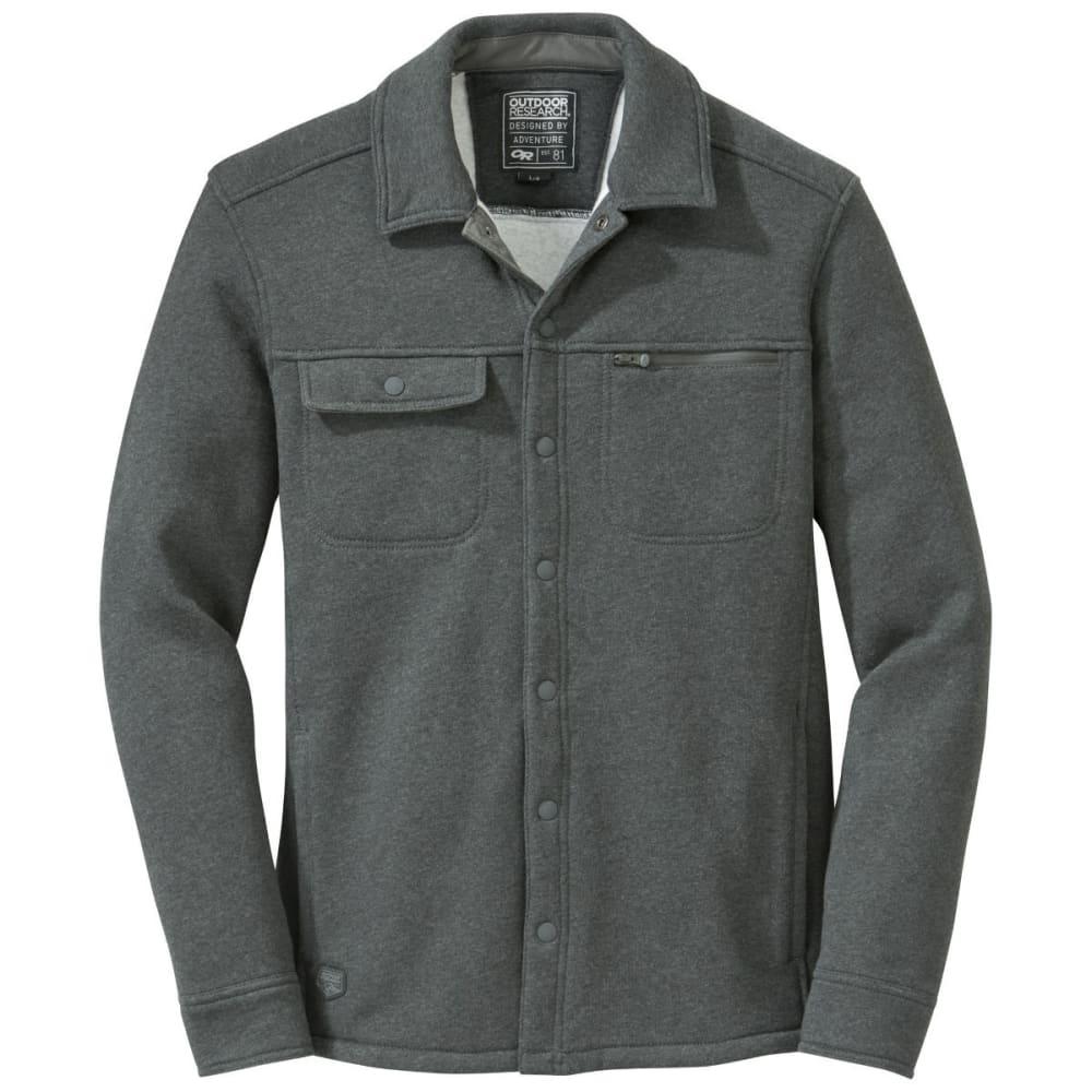 OUTDOOR RESEARCH Men's Revy Shirt - CHARCOAL