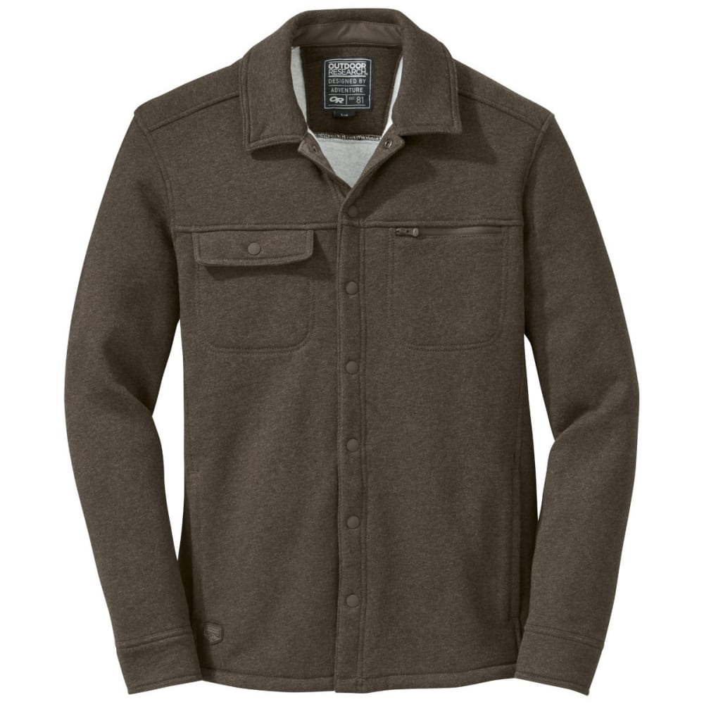 OUTDOOR RESEARCH Men's Revy Shirt - EARTH