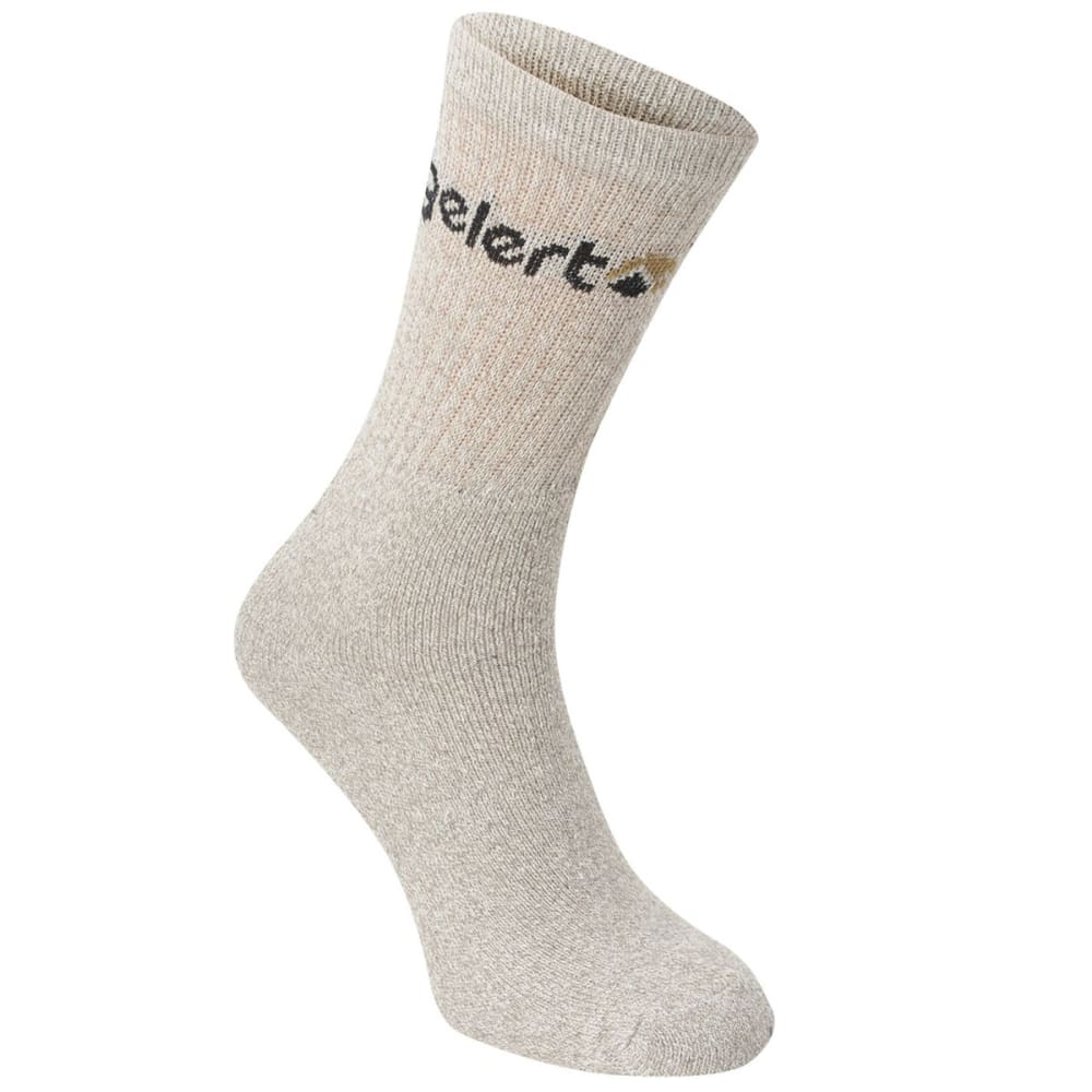 GELERT Men's Hiking Boot Socks, 4 Pack - GREY