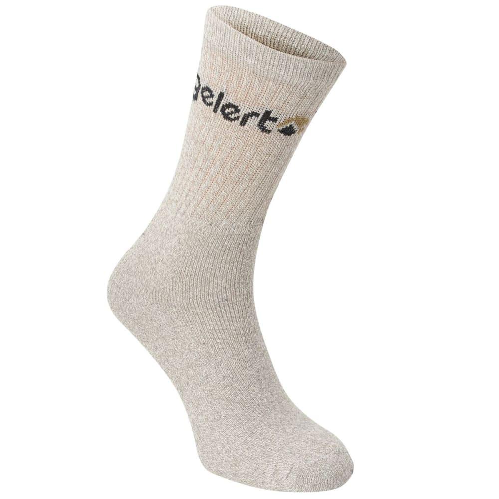 GELERT Men's Hiking Boot Socks, 4 Pack - GREY