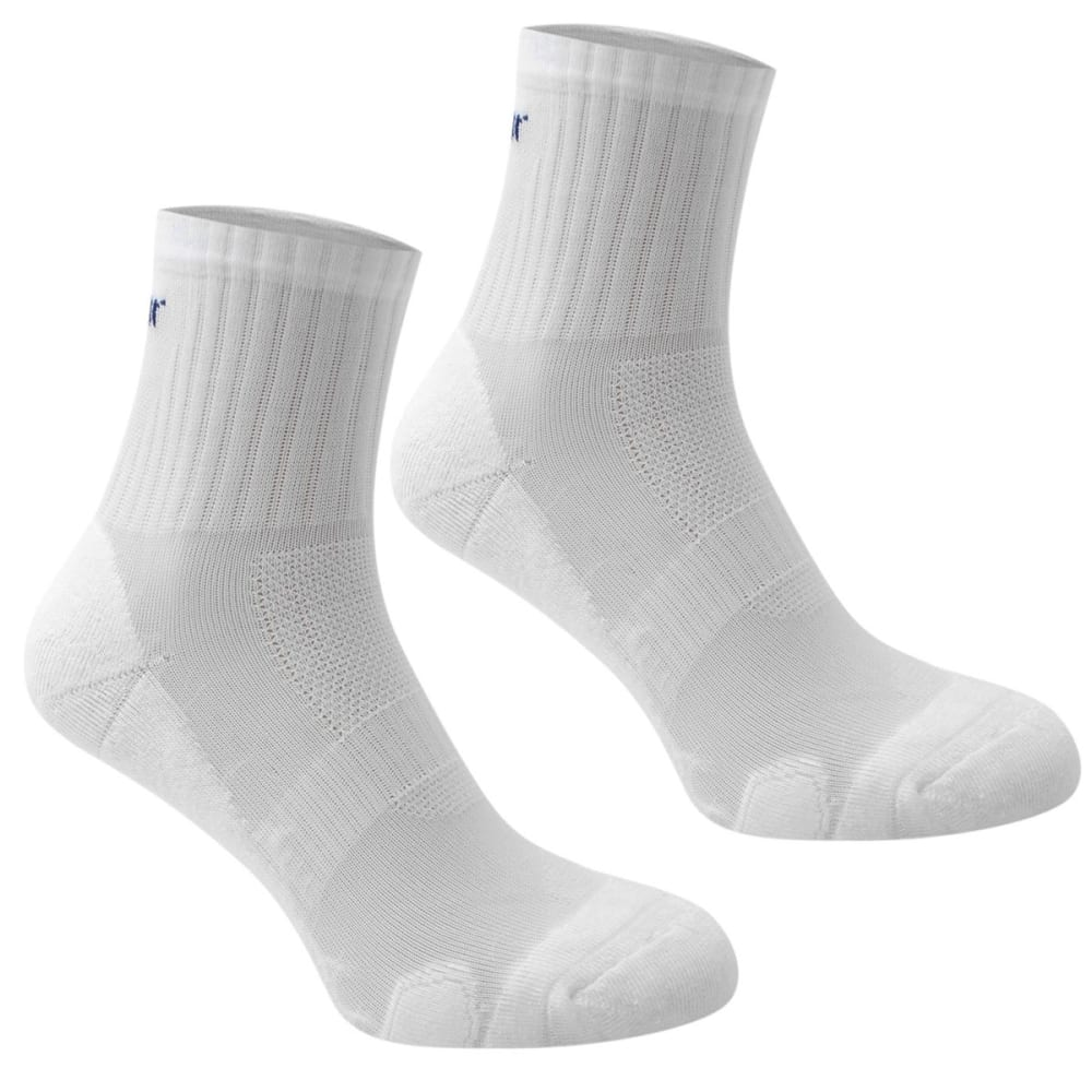 KARRIMOR Men's Dri Skin Running Socks, 2 Pack - WHITE